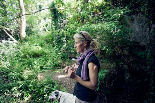 dowsing on Earthwise course