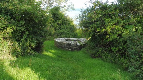 old holy well on Holy Island Co Clare