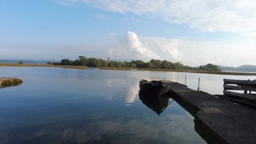Holy Island boat Lough Derg