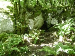 St Colman's Cave in the Burren with Earthwise