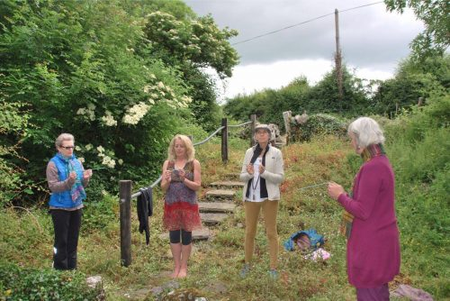 dowsing at St Colman's Well