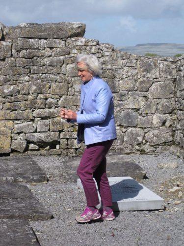 dowsing at Saint Colman's monastery