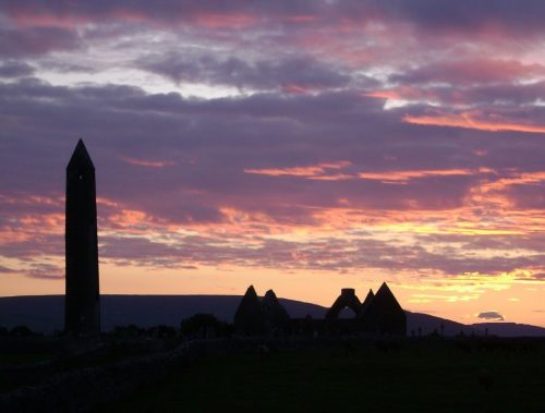 reconnecting with yourself through dowsing at Kilmacduagh