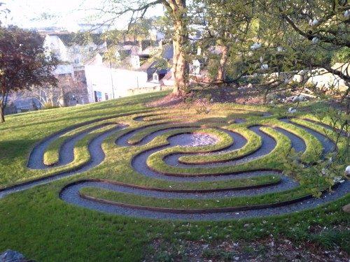 Earthwise Jackie Queally discusses the merits of walking a labyrinth