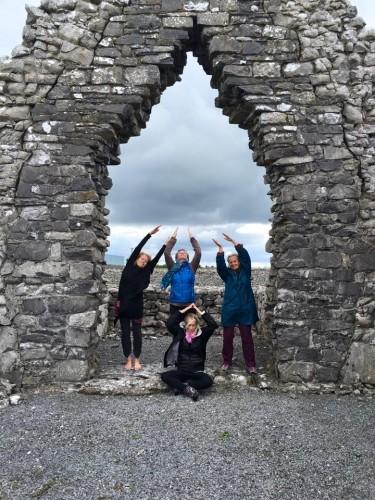 retreat the Burren