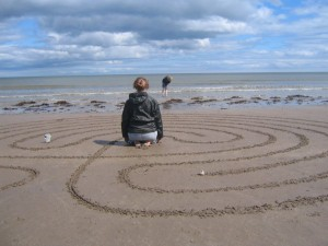 Jackie Queally of earthwise on Labyrinths