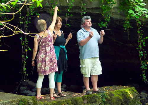 Jackie Queally on her Earthwise Dowsing Course